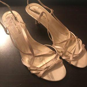 Gold Bandolino Sandals